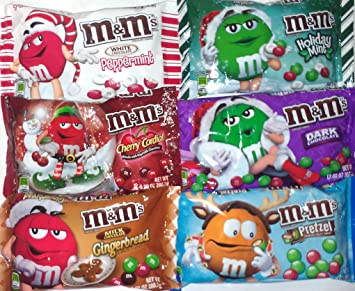 Amazon.com : M&Ms Lover's Holiday Christmas Party & Gift Variety ...