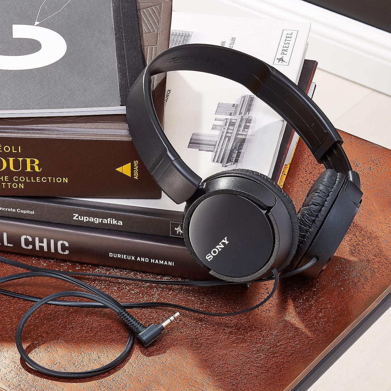 Sony Mdr Zx110 Faltbarer Bügelkopfhörer Schwarz Elektronik