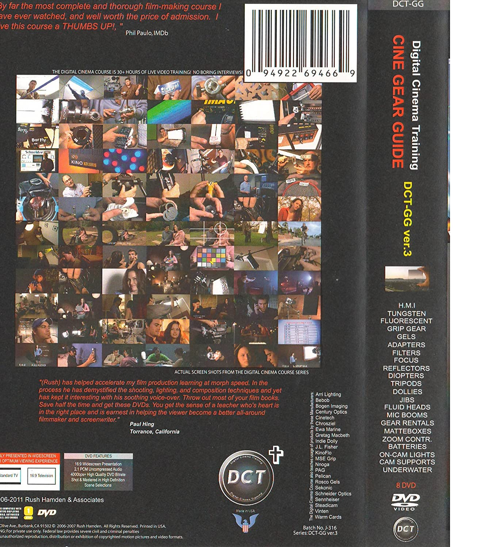 Amazon.com: Digital Cinema filmmakers Curso de formación ...