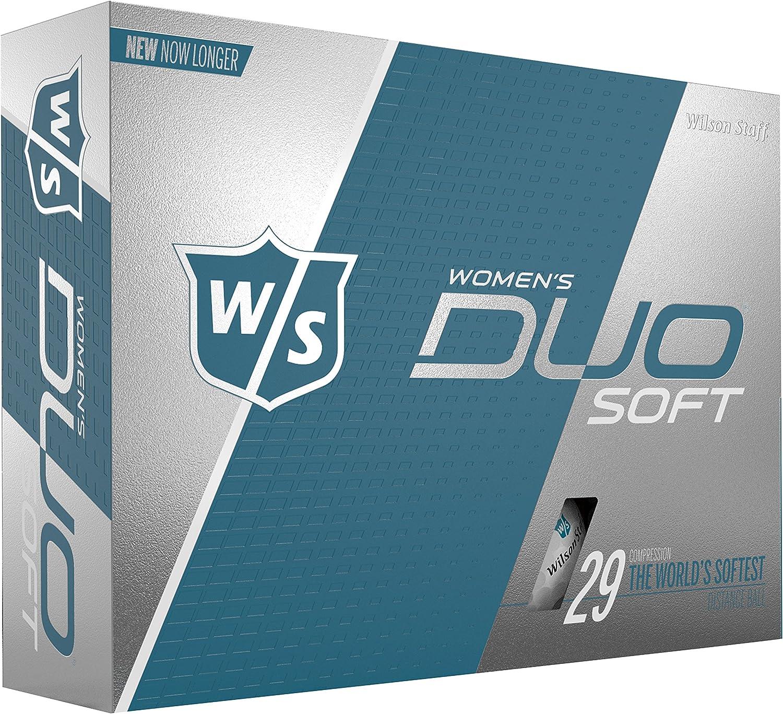 Wilson Staff DUO Golf Ball, Soft, Women's