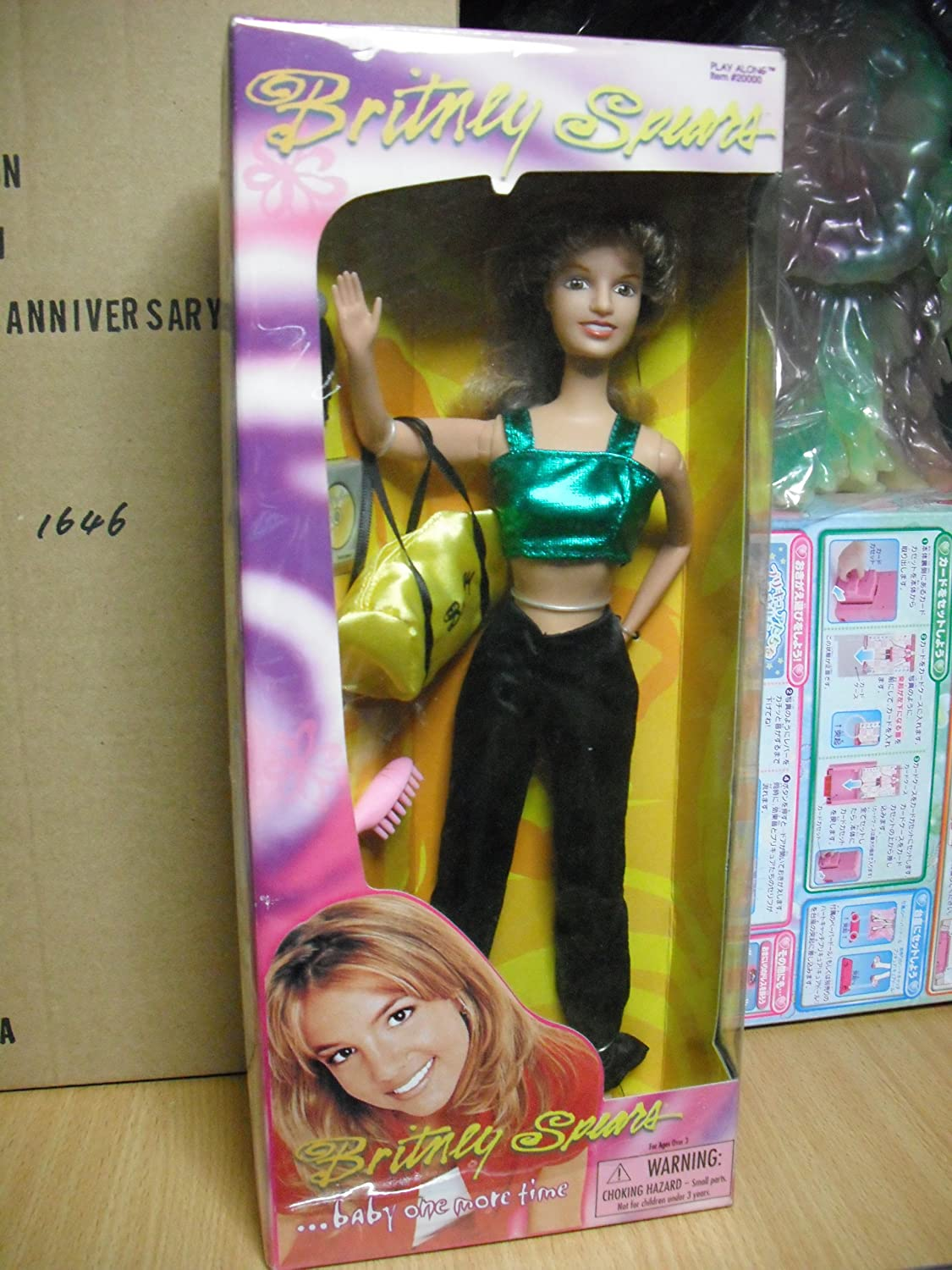 Amazon Com Britney Spears You Drive Me Crazy Outfit Doll Toys Games