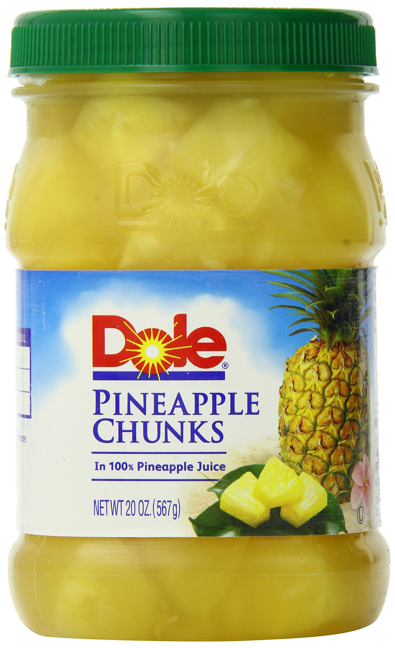 Dole Pineapple Chunks, 20 Ounce /(Pack of 4/) Top Christmas gifts 2018