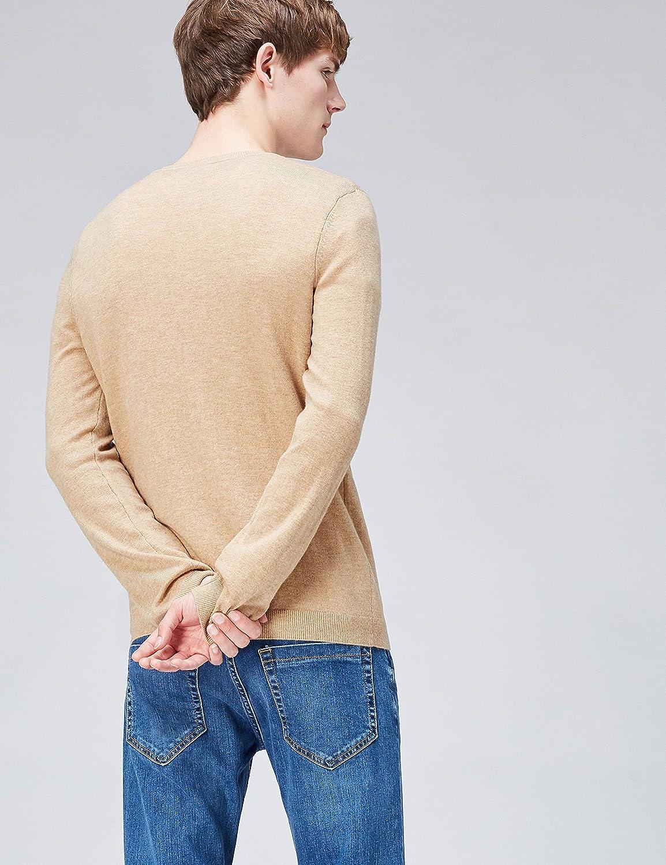 Mens Wool-Mix V-Neck Jumper find