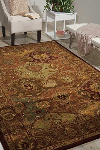 Nourison Jaipur Multicolor Rectangle Area Rug, 8-Feet 3-Inches by 11-Feet 6-Inches 8 3 x 11 6