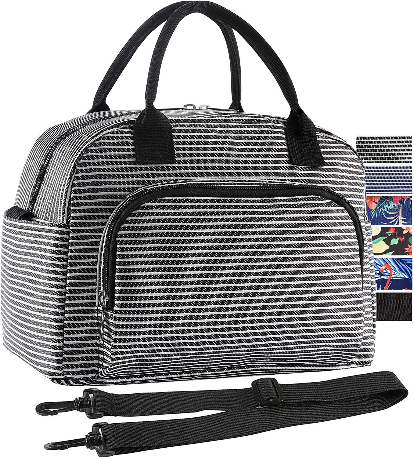 Cool Bag Lunch Box School Office Picnic Insulated Thermal Cooler Handbags Fla...