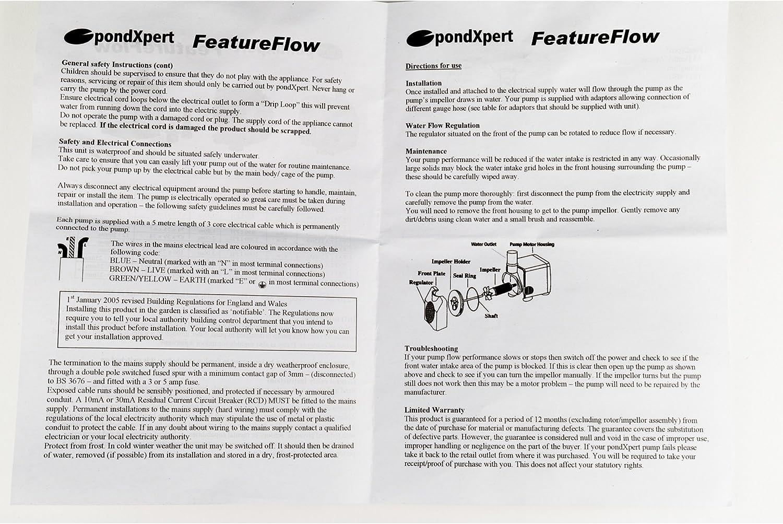 PondXpert FeatureFlow 750 Feature Pump