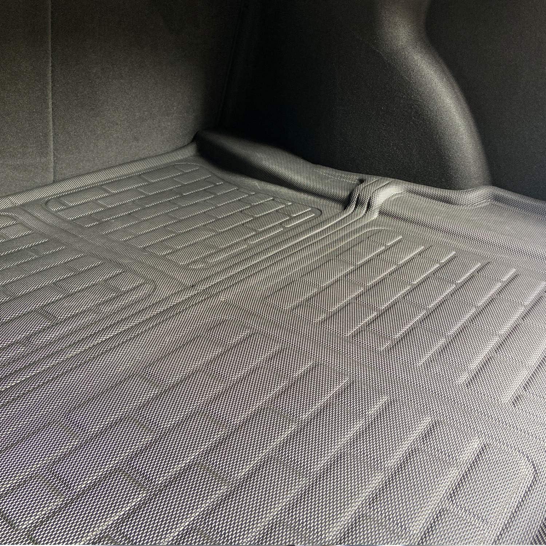 BASENOR Tesla Model 3 Floor Mat 3D All-Weather Anti-Slip Waterproof Floor Liners Set