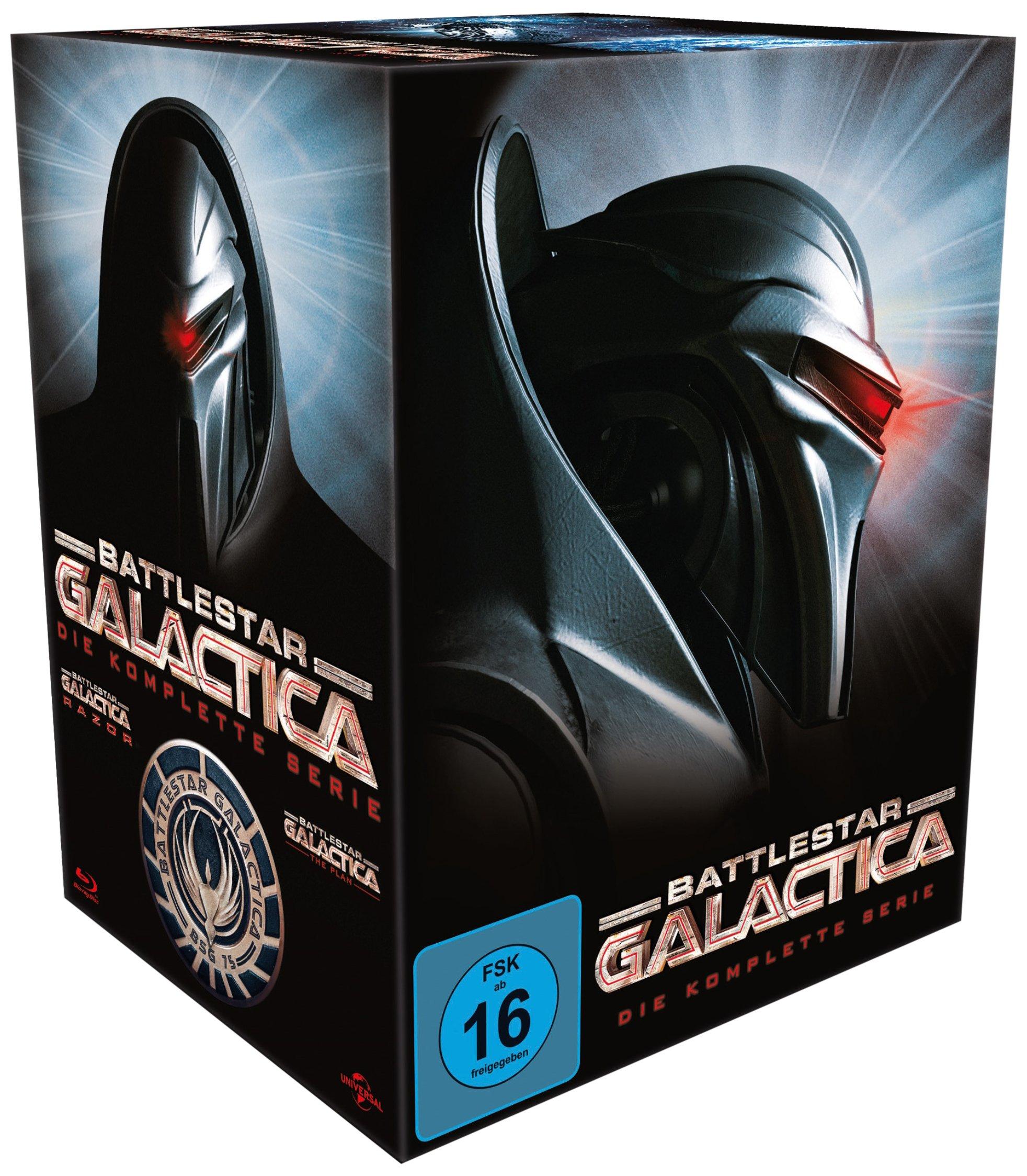 Battlestar Galactica - Season 1-4/Die komplette Serie by