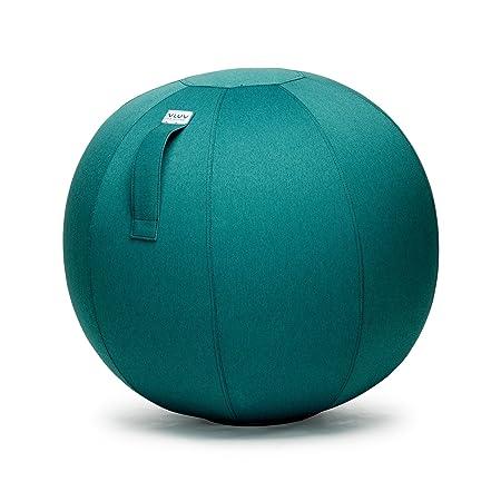 Asiento de plástico en forma de pelota, tela, verde oscuro, 60cm ...