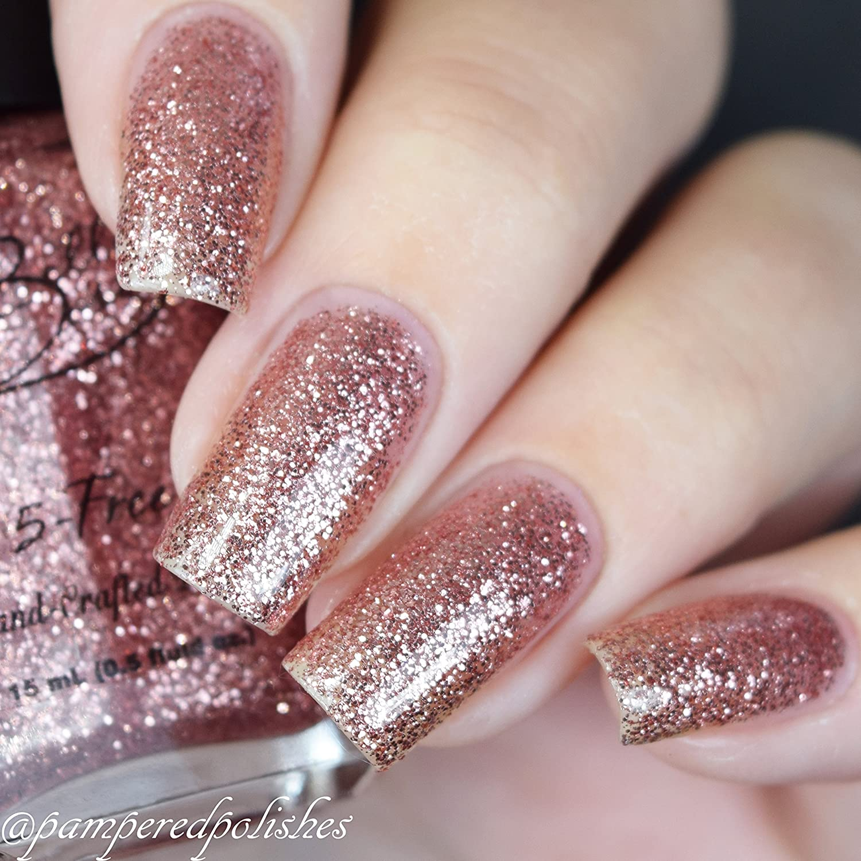 Amazon.com : Bella Bosio Long Lasting 5Free Hand Crafted Glitter ...