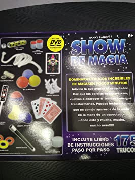 Show de Magia 175 Trucos: Amazon.es: Juguetes y juegos