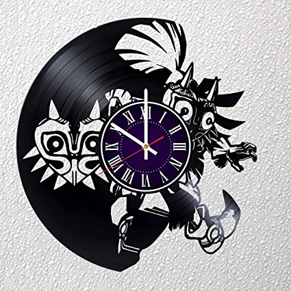 a0fff0857b Identica Store Legend of Zelda Game Vinyl Record Wall Clock - Room Wall  Decor - Art