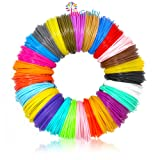 26pc 3D Pen Filament Refills - 1.75mm ABS 520 Linear Feet (20 foot each) Total 26 Different colors fun pack. 6 Glow In The Dark Colors FREE Stencils eBook