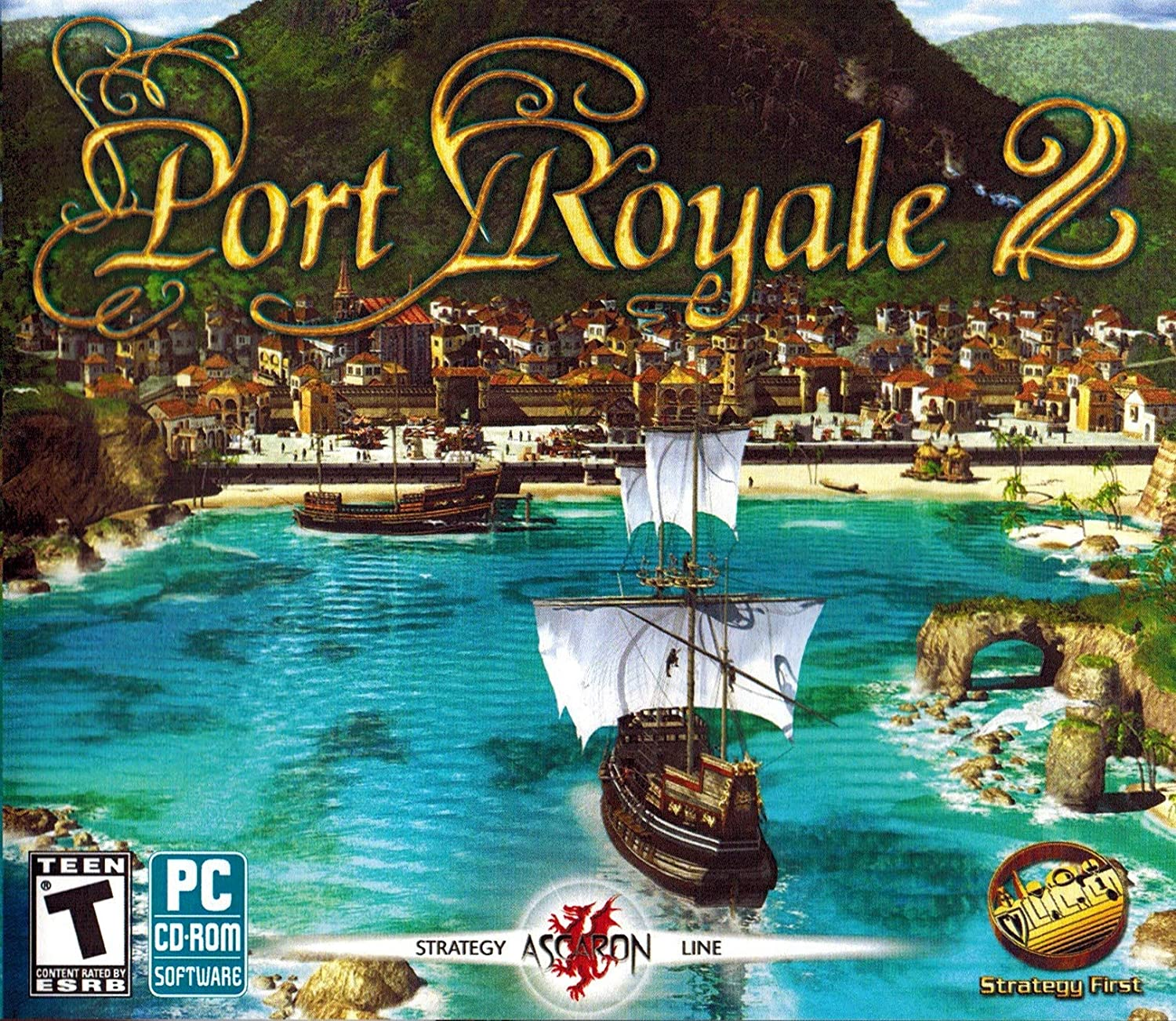Strategy First Port Royale 2 [windows Xp/vista/windows 7]: Amazon.es: Videojuegos