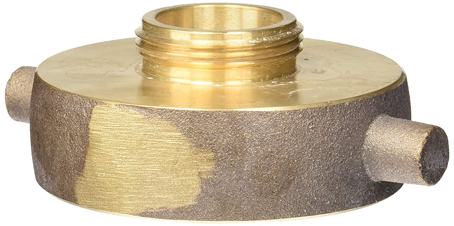 Female x 1-1//2 NST NH Dixon Valve HA3015F Brass Fire Equipment NH Hydrant Adapter with Pin Lug 3 NST Male