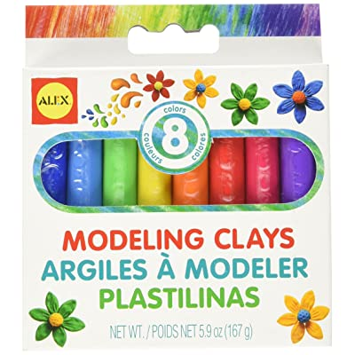 ALEX Toys Artist Studio 8 Modeling Clays: Toys & Games