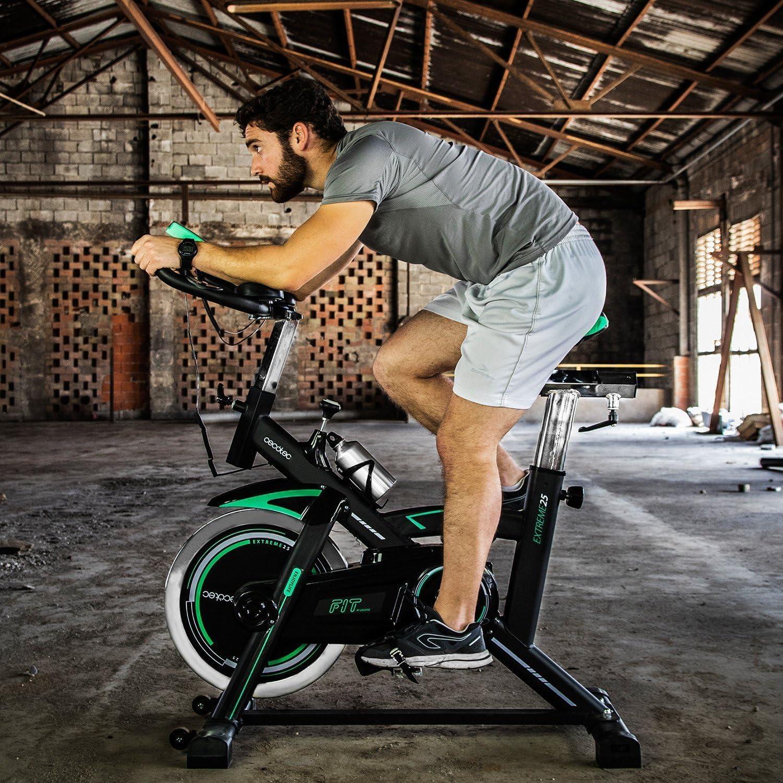 EXTREME 25 Bicicleta de Spinning Profesional de Gama Alta Cecotec: Amazon.es: Deportes y aire libre
