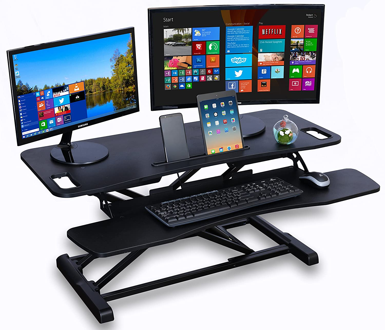 laptop adjustable desk best looking height or quotations converter monitor get keyboard guides shopping modern stand cheap standing find
