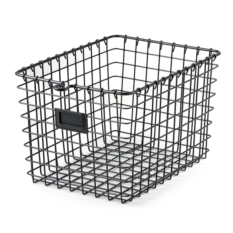 Amazon.com: Spectrum Diversified Wire Storage Basket, Small, Industrial  Gray: Home U0026 Kitchen