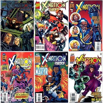 X-Nation 2099 # 6 near mint 1996 series comic book