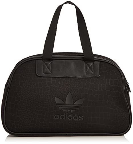 ecd336d13753 Buy adidas S20035NS Bowling Bag Python Synthetic Bags (Black) Online at Low  Prices in India - Amazon.in