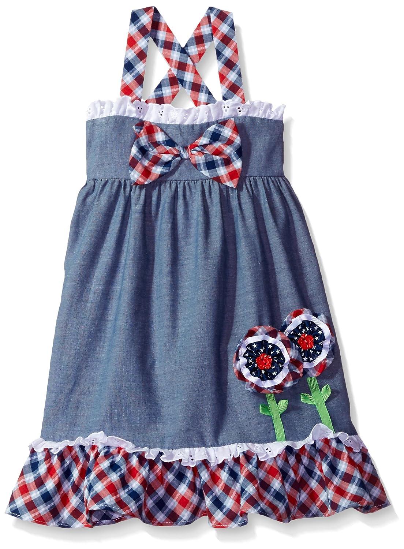 4ed4650995c8 Amazon.com  Bonnie Jean Girls Chambray Dress  Clothing