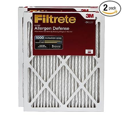 .com: filtrete mpr 1000 20 x 20 x 1 micro allergen defense ac ...