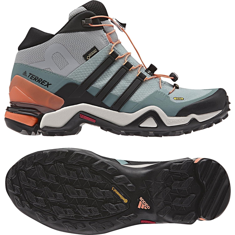 Adidas Damen Terrex Terrex Terrex Fast R Mid GTX W Wanderstiefel Grün (Grünac Negbas acevap) 38 EU 5f47a2