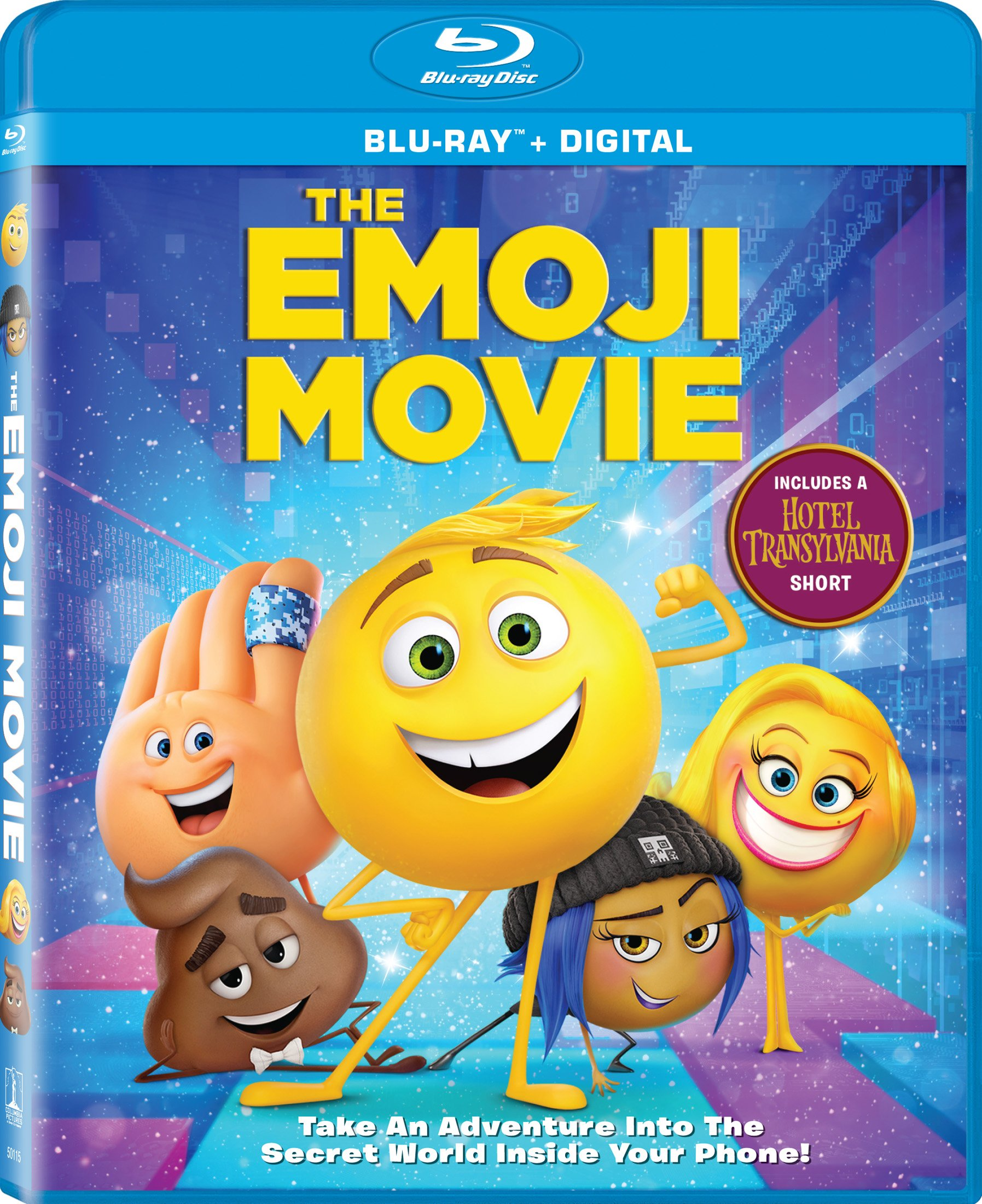 Blu-ray : The Emoji Movie (Widescreen, Dolby, AC-3, Dubbed, )