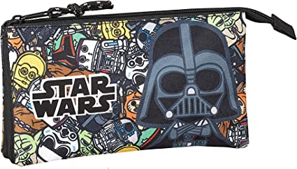 Star Wars Galaxy Oficial Estuche Escolar 220x30x100mm: Amazon.es: Oficina y papelería