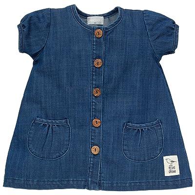 Pinokio - Robe - Trapèze - Manches Longues - Bébé (fille) 0 à 24 mois bleu bleu foncé 3 mois