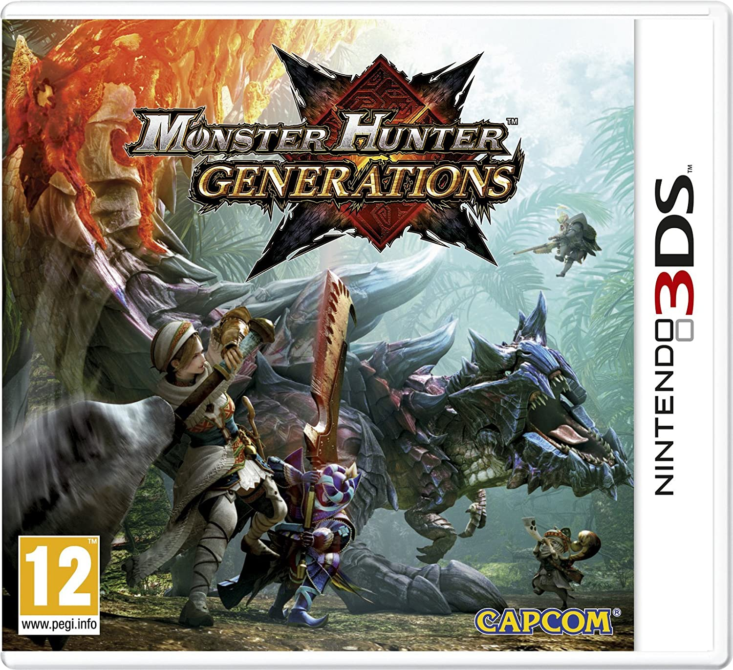 Monster Hunter Générations [3DS] | Capcom