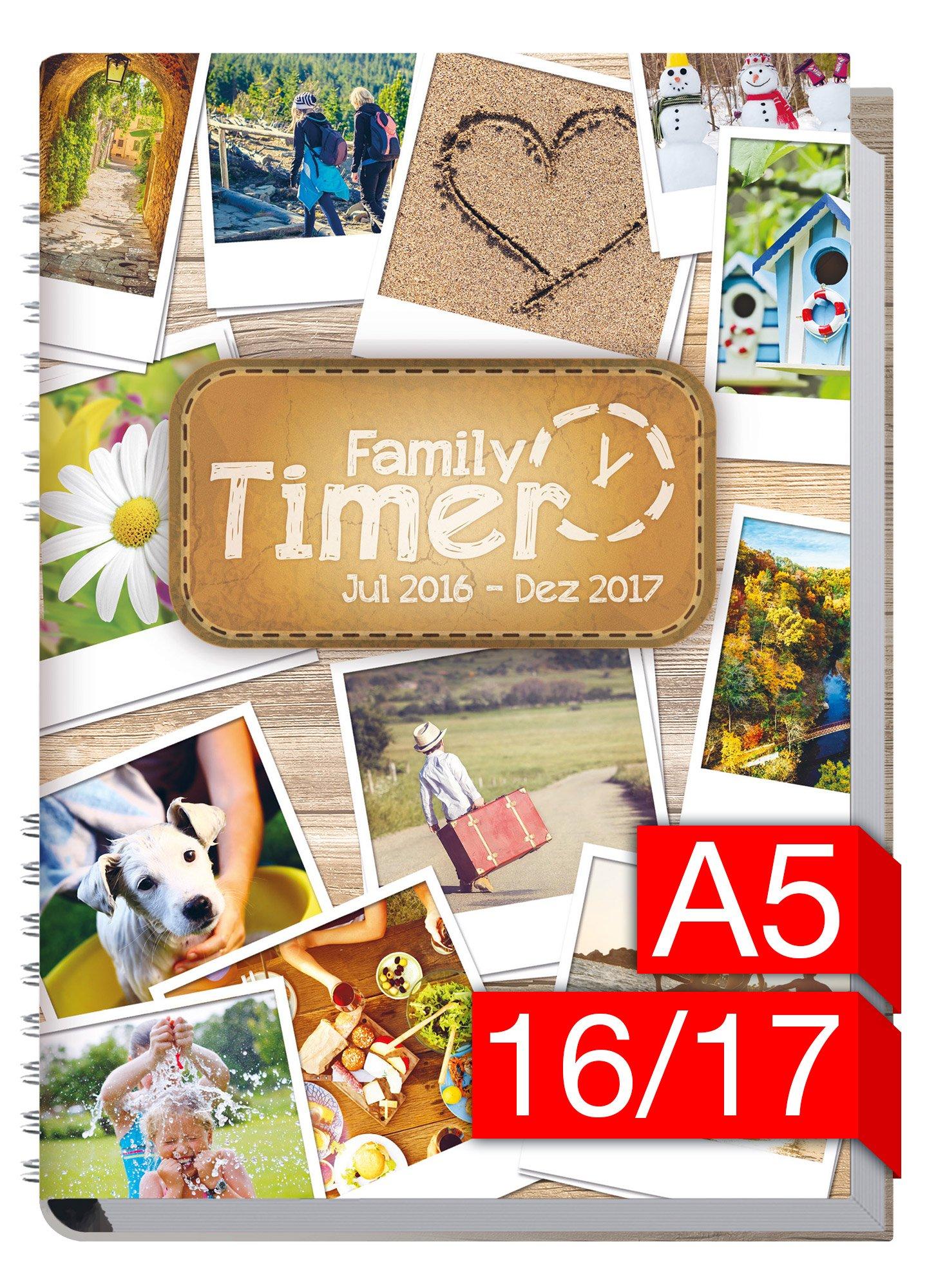 Chäff Family-Timer 2016/2017 - Der Familien-Planer! 18 Monate bis Dez 2017