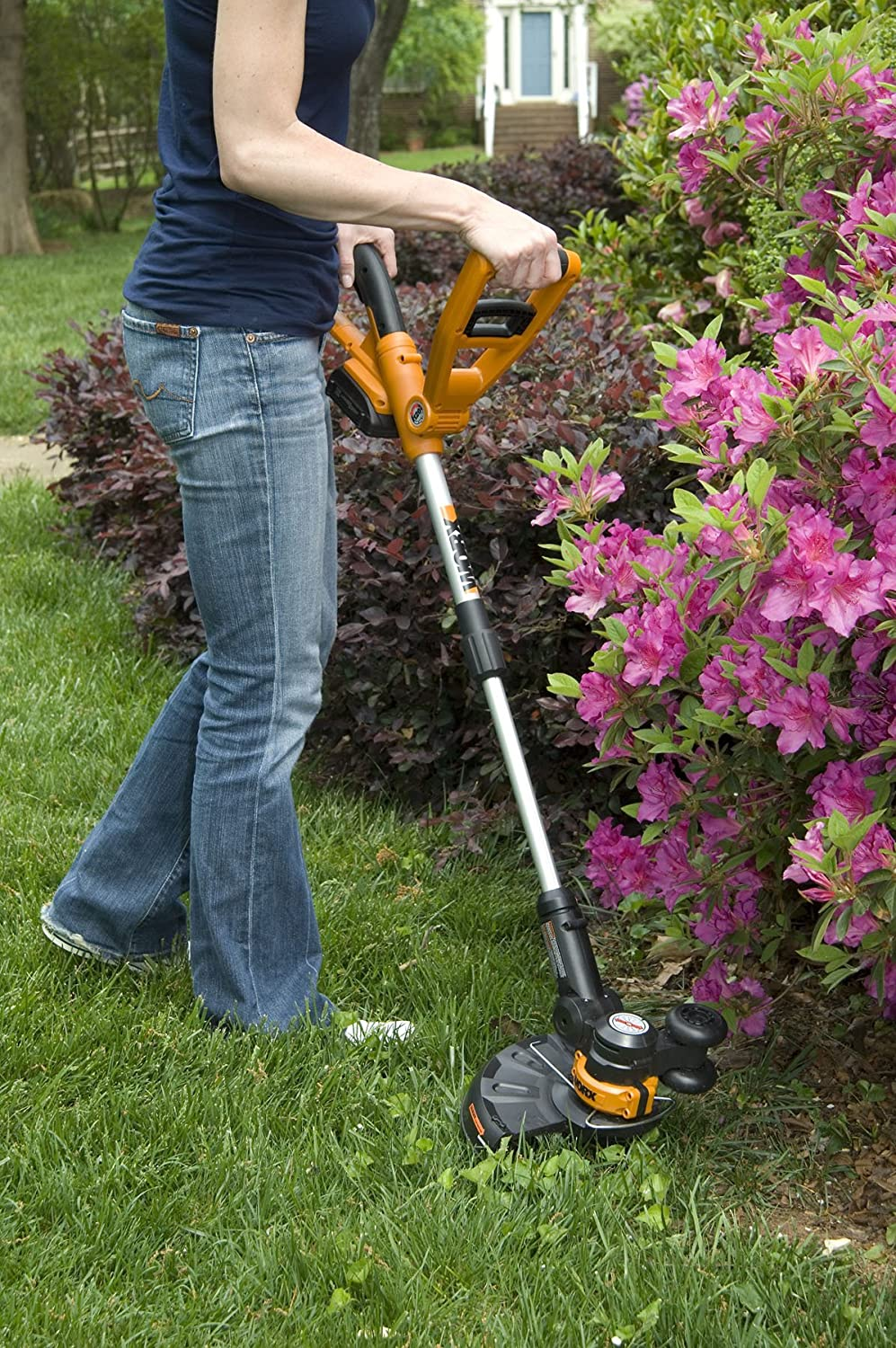 Worx Wg155 20v Max Cordless Lithium 10 Inch String Weed Eater Diagram And Parts List For Weedeater Grasslinetrimmer Trimmer Edger Battery Charger Included Garden Outdoor