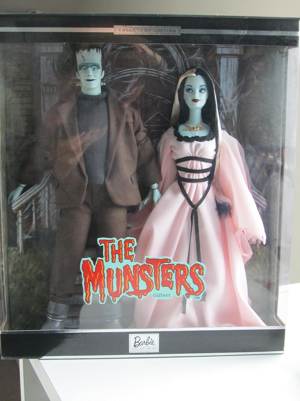 Barbie Collectables  Mattel The Munsters  Barbie & Ken Giftset  Barbie Doll