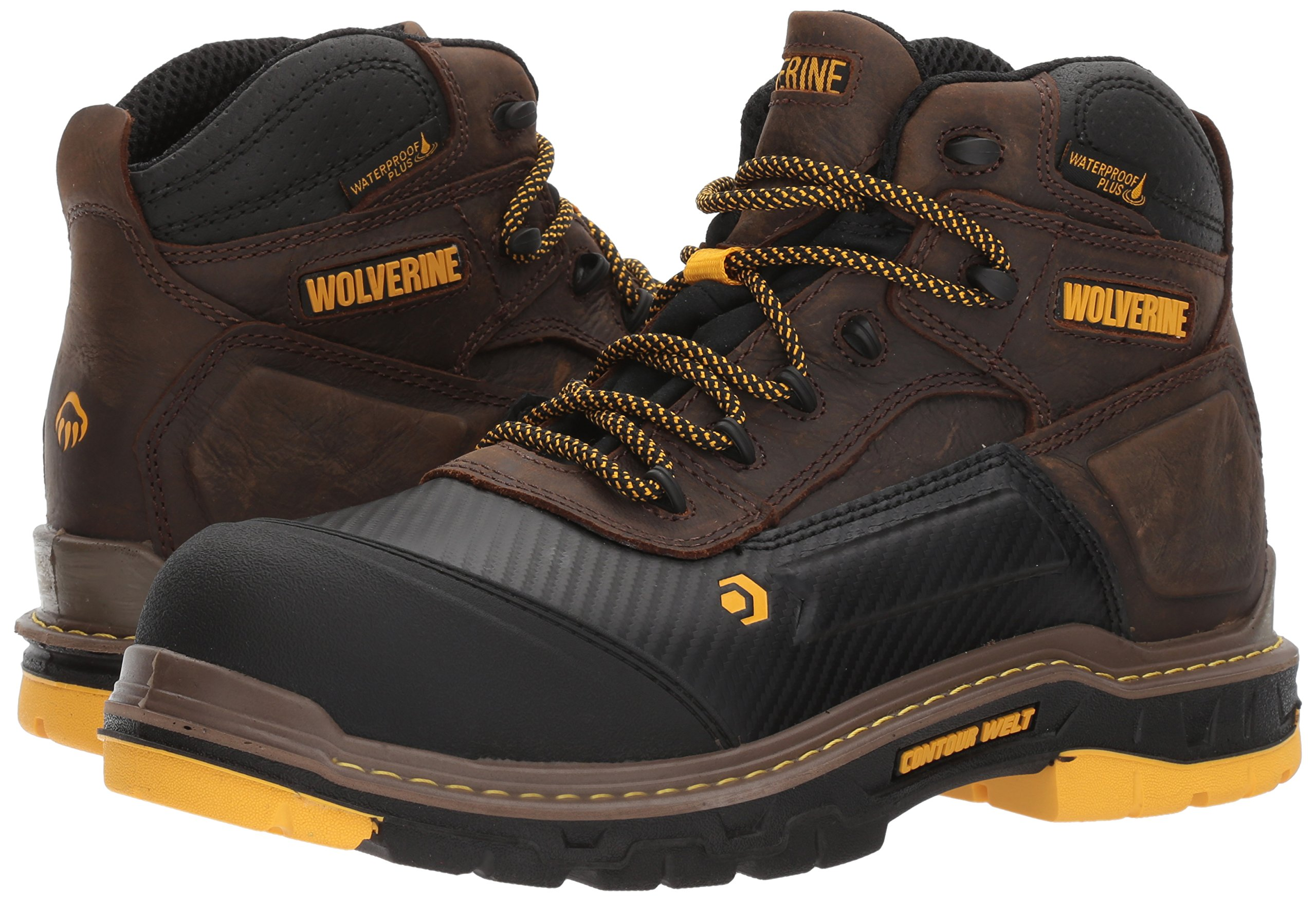 Wolverine Men's Overpass 6'' Composite Toe Waterproof Insulated Work Boot by Wolverine (Image #6)