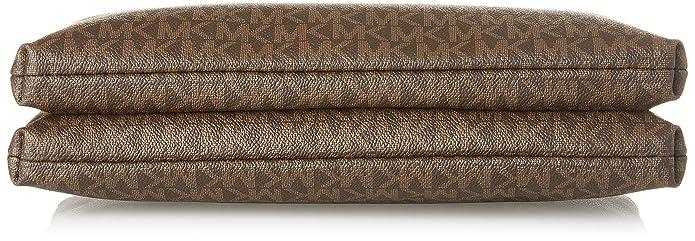 e170e5034bac MICHAEL Michael Kors Women s Adele Double Zip Wristlet  Handbags  Amazon.com