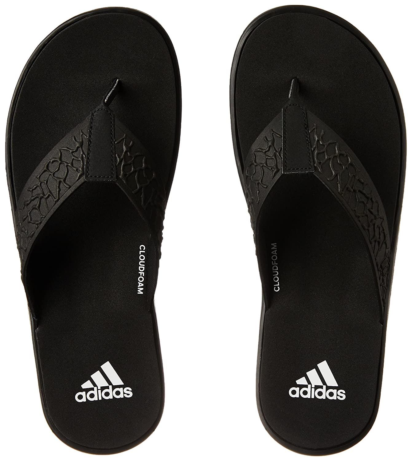 76b90b58830d Adidas Men s Beachcloud Cf Y Cblack Ftwwht Cblack House Slippers - 9  UK India (43 EU) (BB0503)  Buy Online at Low Prices in India - Amazon.in