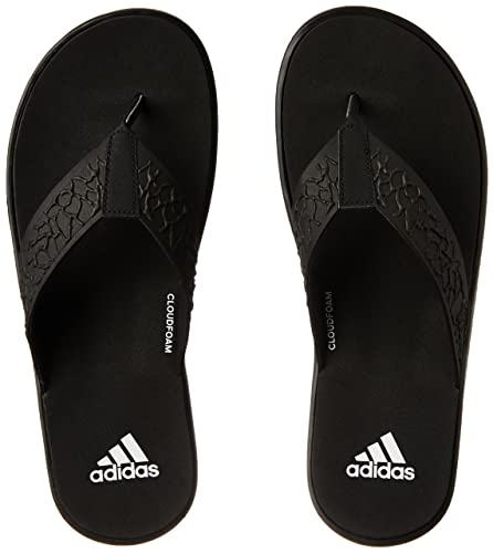 0217ed89c78f Adidas Men s Beachcloud Cf Y Cblack Ftwwht Cblack House Slippers - 9 ...