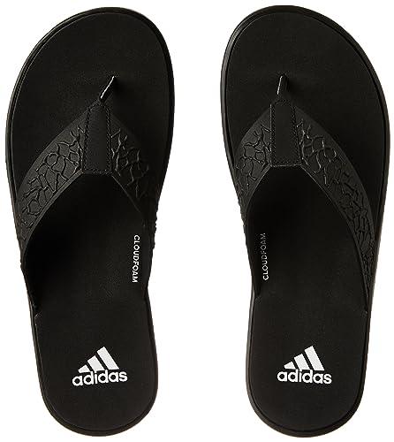 dfc1b6c0b1272 Adidas Men s Beachcloud Cf Y Cblack Ftwwht Cblack House Slippers - 9 ...