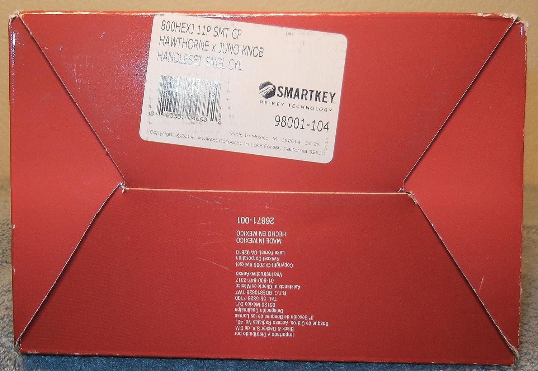 Kwikset Signature Series 98001-104 Venetian Bronze Smartkey ...
