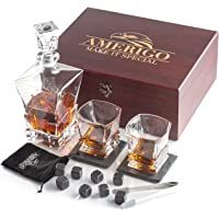 Amerigo Whisky Piedras Set de Regalo y 2