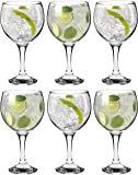 Rink Drink Spanish Gin & Tonic Cocktail Glasses - 645ml (22.7oz) Pack of 6 Balloon Glasses