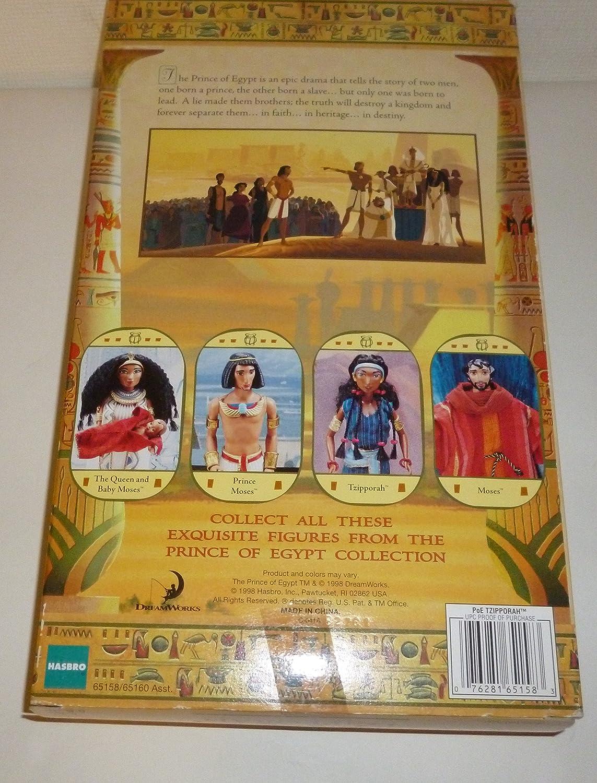 amazon com the prince of egypt doll tzipporah by hasbro toys u0026 games