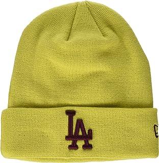 san francisco 6cbe9 285b7 New Era L.A. Dodgers Beanie - Seasonal Cuff - Yellow