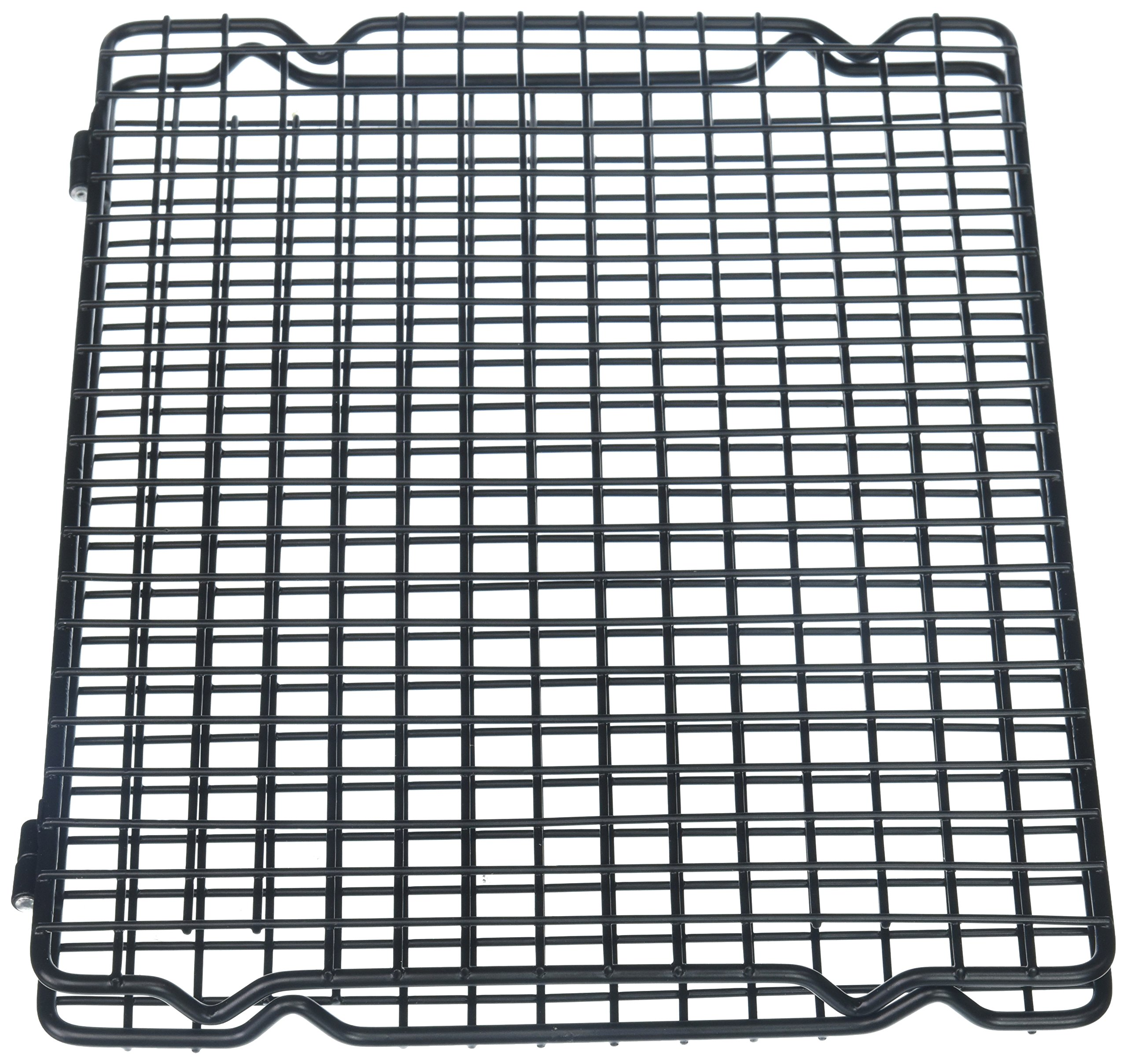 Kaiser 769462 17.91'' x 11.81'' Foldable Cooling Rack, Silver by Kaiser (Image #1)