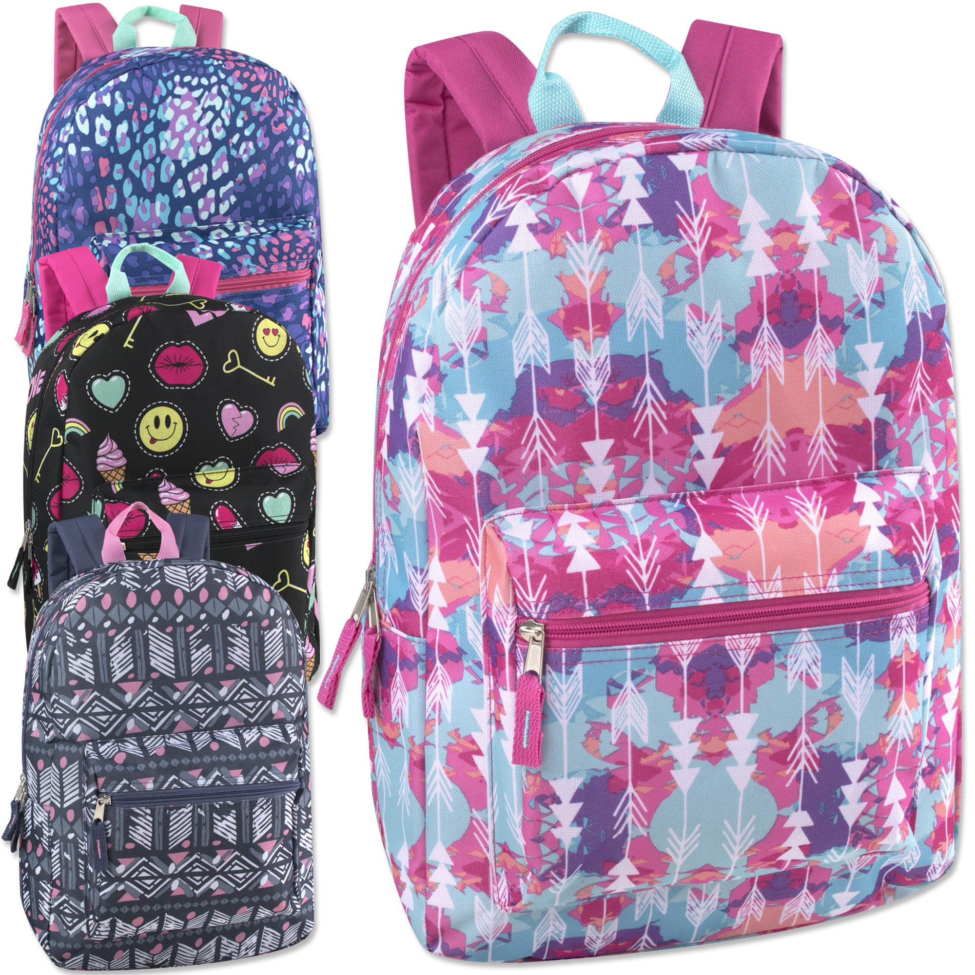 24 Pack of Wholesale 17 Inch Printed Bulk Backpacks For Kids - Boys and  Girls Bulk Wholesale Backpacks- Buy Online in Guernsey at Desertcart