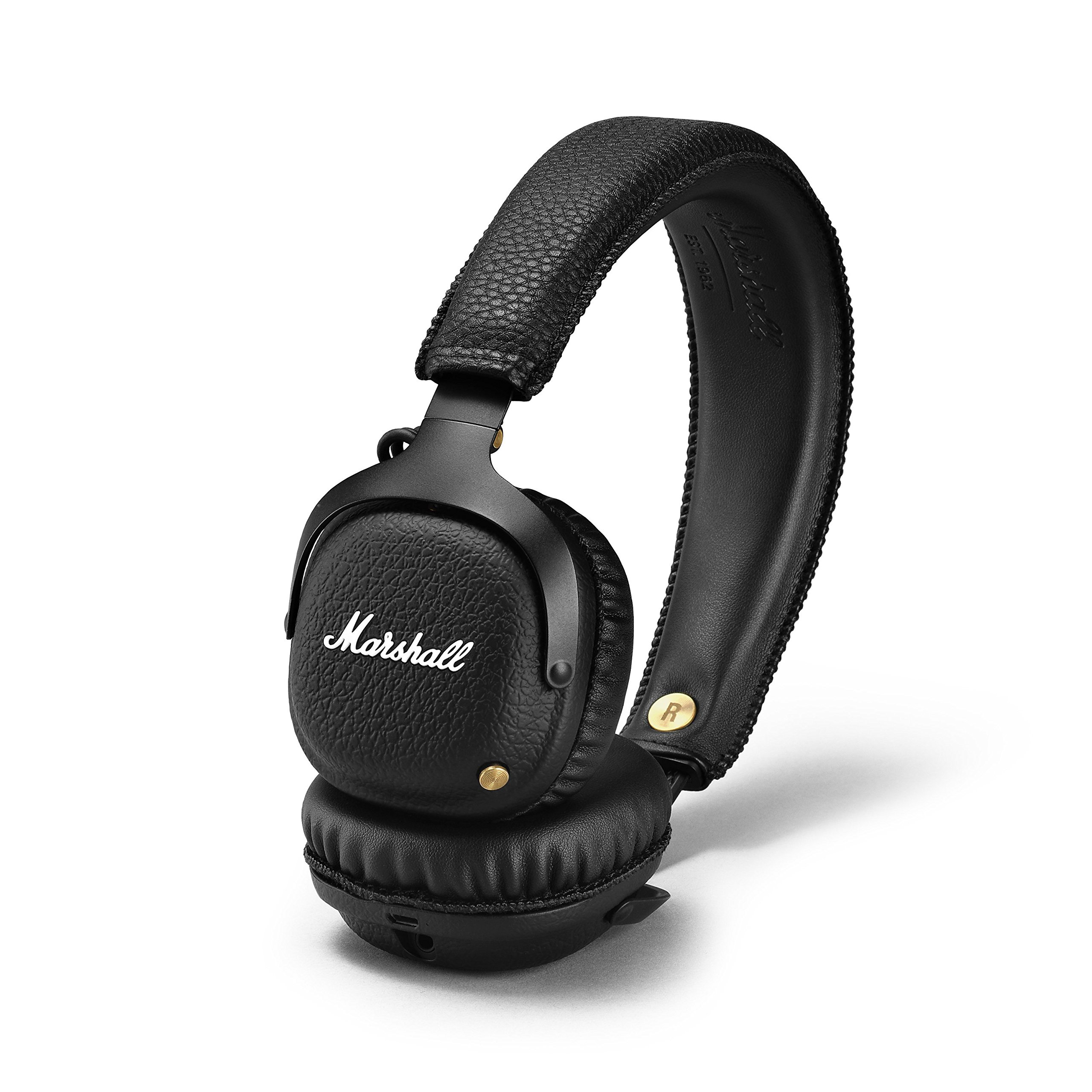 Marshall Mid Bluetooth Wireless On-Ear Headphone, Black (04091742) by Marshall