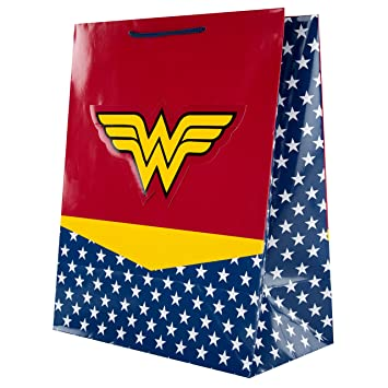 Bolsa de regalo DC Comics de Wonder Woman, tamaño grande ...