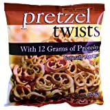 Weight Loss Systems - High Protein Pretzel Twists - Low Calorie - Low Fat - Low Carb - High Fiber Diet Snack - Kosher - 7 Bags